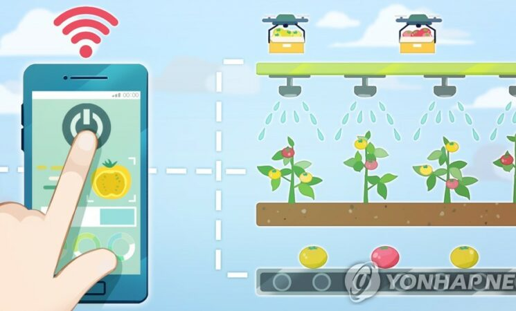 S. Korea to invest over 380 bln won in smart farm tech through 2027